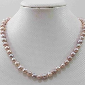 Akoya Freshwater Pearl Necklace 18''